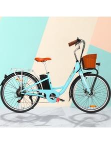 """Phoenix 26"""" Electric Bike eBike - Green"""
