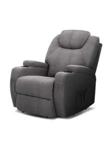 Artiss Recliner Electric Heated Massage Chair - Grey