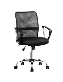 Artiss Office Chair Nash Mesh Computer Chairs Seat Black