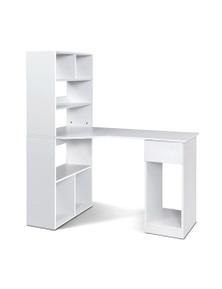 Artiss Office Computer Desk Study Table Corner Shelf