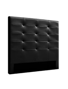 Double Size Bed Headboard Bed Frame Head Bedhead Leather Frame Base BENO