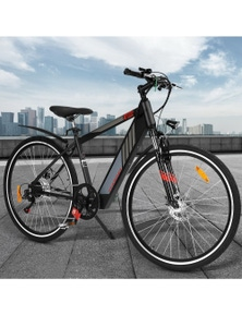 Phoenix 27 Inch Electric Bike LG Lithium Battery - Black