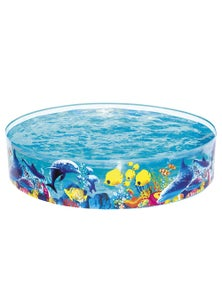 Bestway Swimming Pool Above Ground Kids Play Inflatable