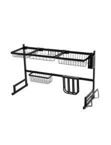2-Tier 85cm Stainless Steel Kitchen Dish Drying Rack