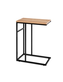 Artiss Industrial Style Coffee Side Table - Wooden Metal Frame