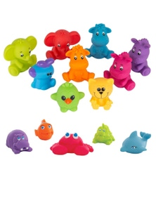 Playgro Under The Sea Squirtees and Jungle Fun Friends