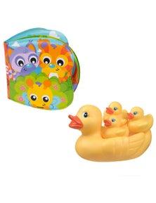 Playgro Bath Books W/ Duckie Family