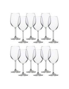 Pasabahce 360Ml Sidera Wine Glasses 2Pk 6Pc