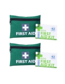 Mini First Aid Kit 2x 43pc