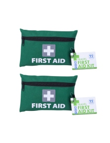 Travel First Aid Kit 2x 92pc