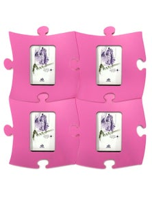 Puzzle Picture Frame Pantone 224U 4PK