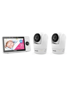 Vtech 5 Inch Smart Wifi 1080P Hd Baby Monitor and 2X Cameras Combo