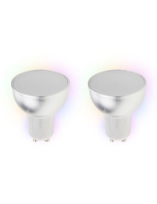 Laser Smart Home 5W Smart RGB LED Downlight GU10 2x