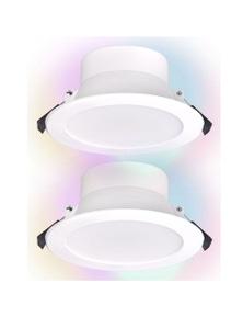 Laser Smart Home 10W Smart RGB LED Downlight 240v 2x