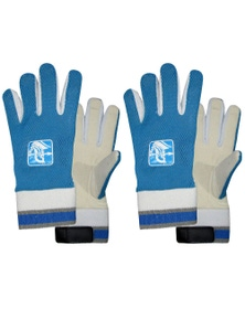 Spartan Cricket Chamois Leather Palm Padded Inners Wicked Keeping Glove Boys 2x