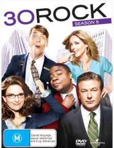 30 Rock- Season 5 DVD