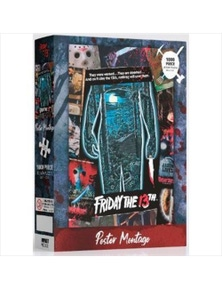 Friday the 13th- 1000 Piece Jigsaw Puzzle