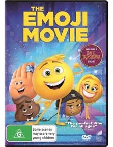 Emoji Movie DVD