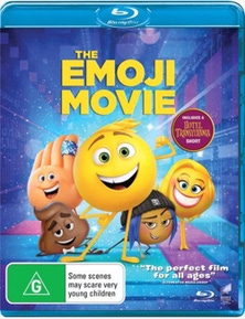 Emoji Movie Blu-ray