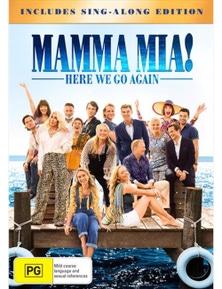 Mamma Mia- Here We Go Again! DVD