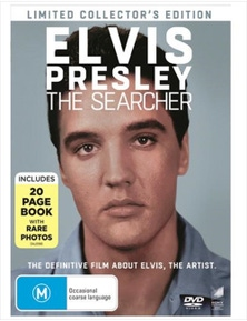 Elvis Presley- The Searcher- Limited Collector's Edition DVD