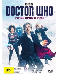 Doctor Who- Twice Upon A Time DVD