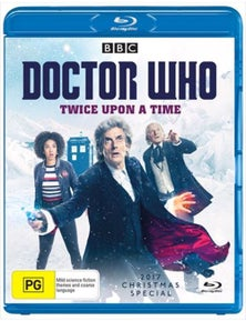 Doctor Who- Twice Upon A Time Blu-ray