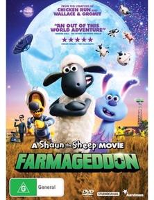 A Shaun The Sheep Movie- Farmageddon DVD
