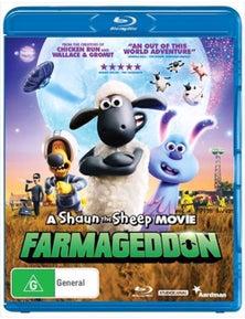 A Shaun The Sheep Movie- Farmageddon Blu-ray