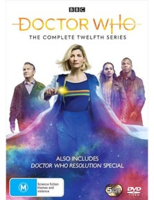 Doctor Who- Series 12 DVD