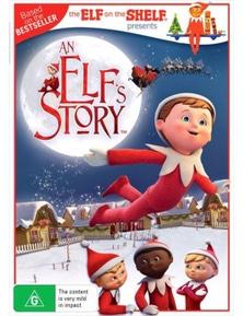 An Elf's Story- The Elf On The Shelf DVD