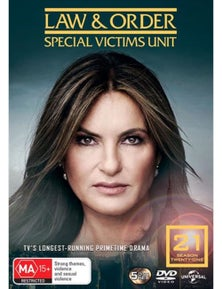 Law And Order- Special Victims Unit- Season 21 DVD