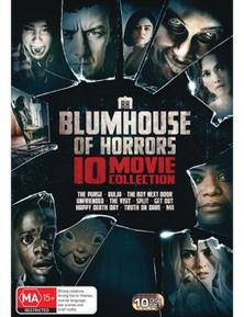 10 Movie Blumhouse Pack DVD