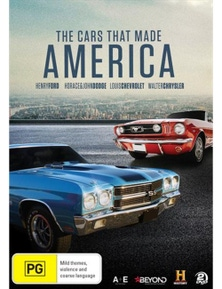 Cars That Made America DVD
