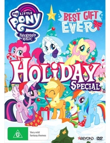 My Little Pony Friendship Is Magic- Best Gift Ever Christmas Special DVD