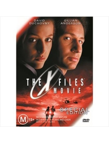 X Files Movie DVD