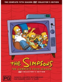 The Simpsons- Season 5 DVD