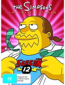 The Simpsons- Season 12 DVD