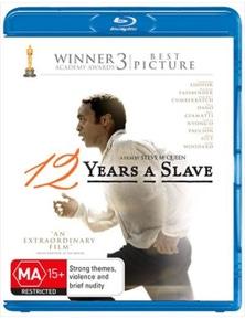 12 Years A Slave Blu-ray