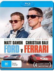 Ford V. Ferrari Blu-ray