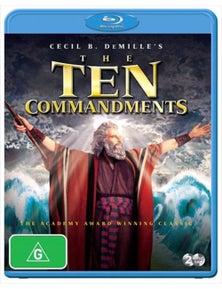 Ten Commandments Blu-ray