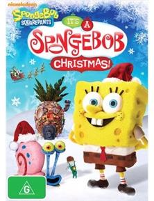 Spongebob Squarepants- It's A Spongebob Christmas DVD