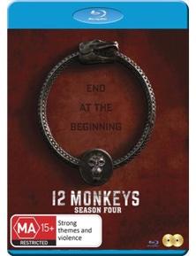 12 Monkeys- Season 4 Blu-ray