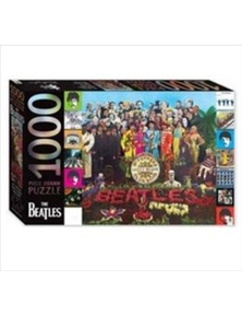 The Beatles Sgt Peppers Lonely Hearts Club 1000 Piece Puzzle