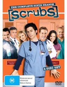 Scrubs- Season 6 DVD