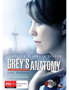 Grey's Anatomy- Season 11 DVD