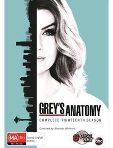 Grey's Anatomy- Season 13 DVD