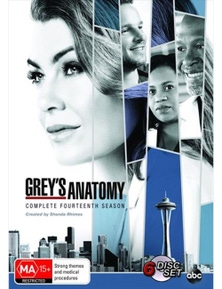 Grey's Anatomy- Season 14 DVD