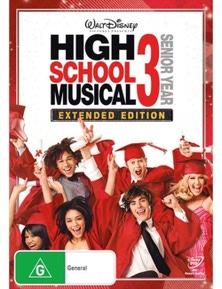High School Musical 3- Senior Year- Extended Edition DVD