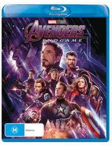 Avengers- Endgame Blu-ray